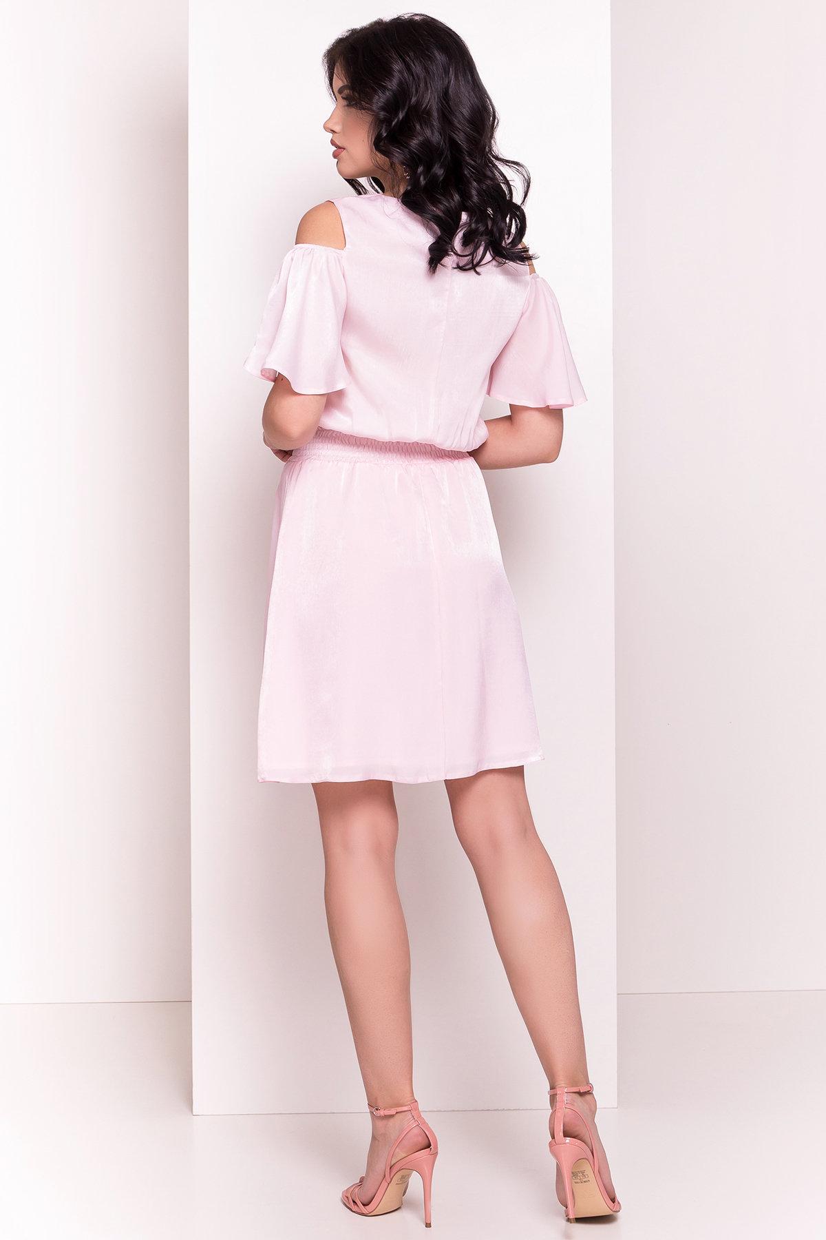 Платье Лолли 5073 АРТ. 35732 Цвет: Розовый - фото 3, интернет магазин tm-modus.ru