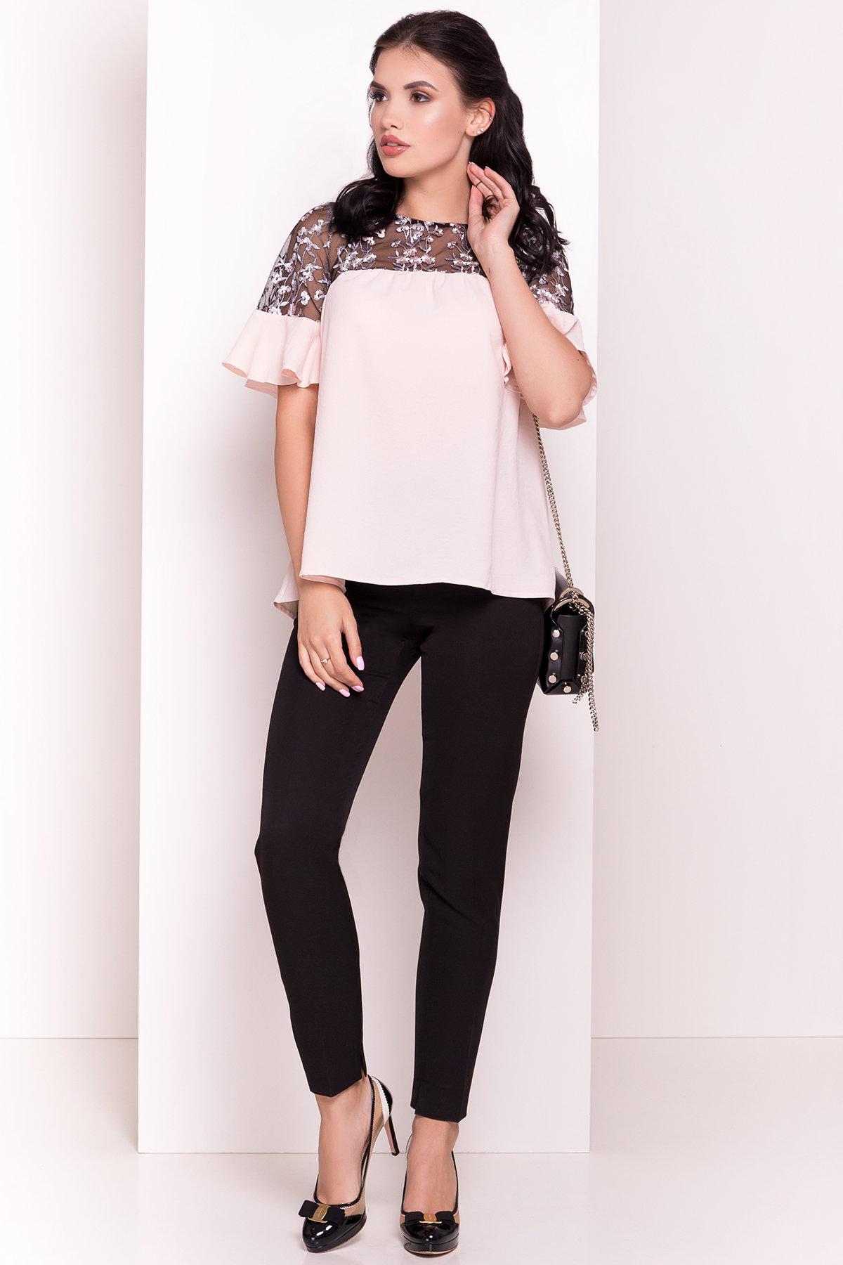 Блуза Анафи 5105 Цвет: Пудра