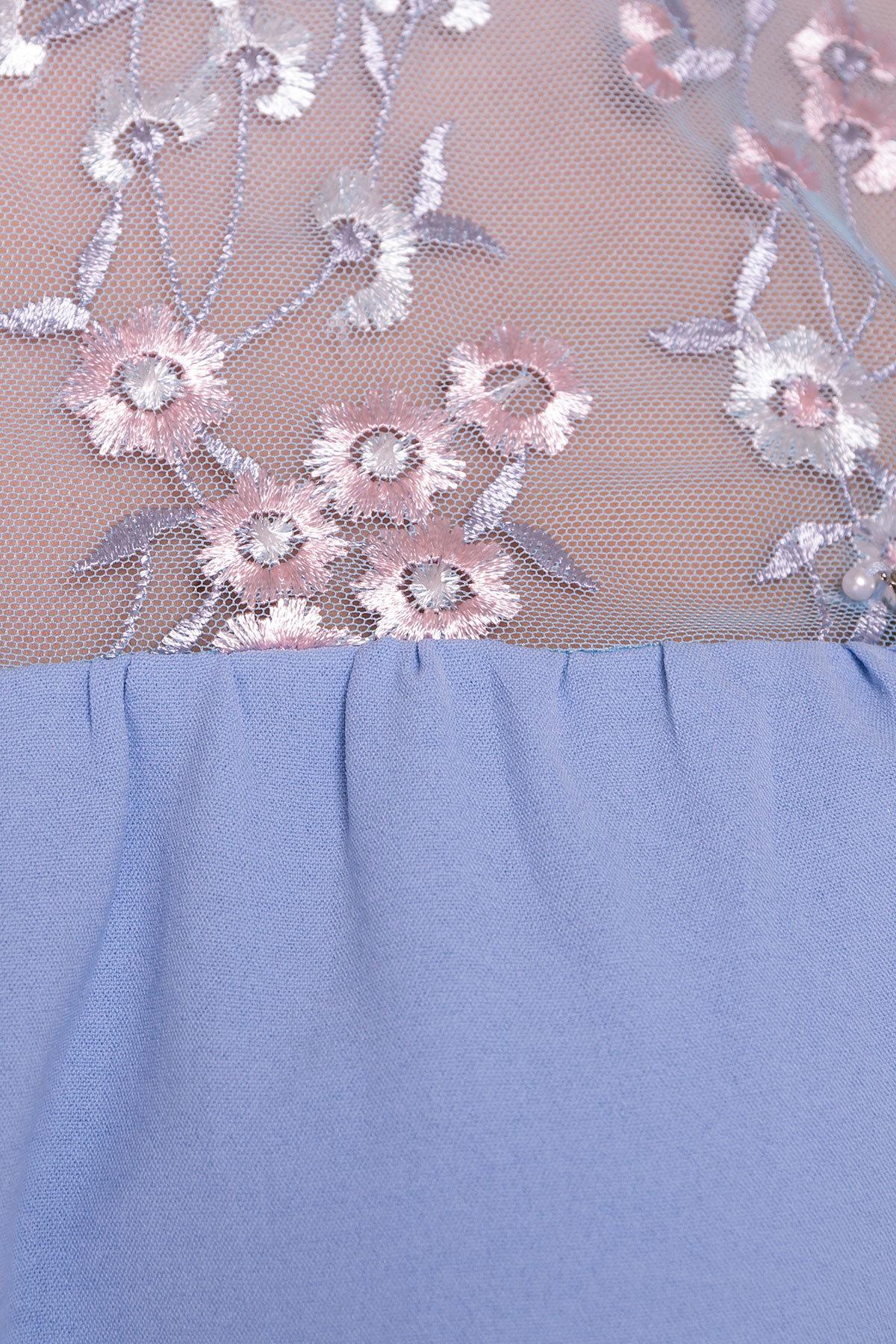 Блуза Анафи 5105 Цвет: Голубой