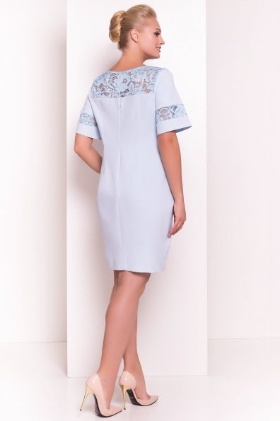 Платье Эвелина Donna 5074 Цвет: Голубой