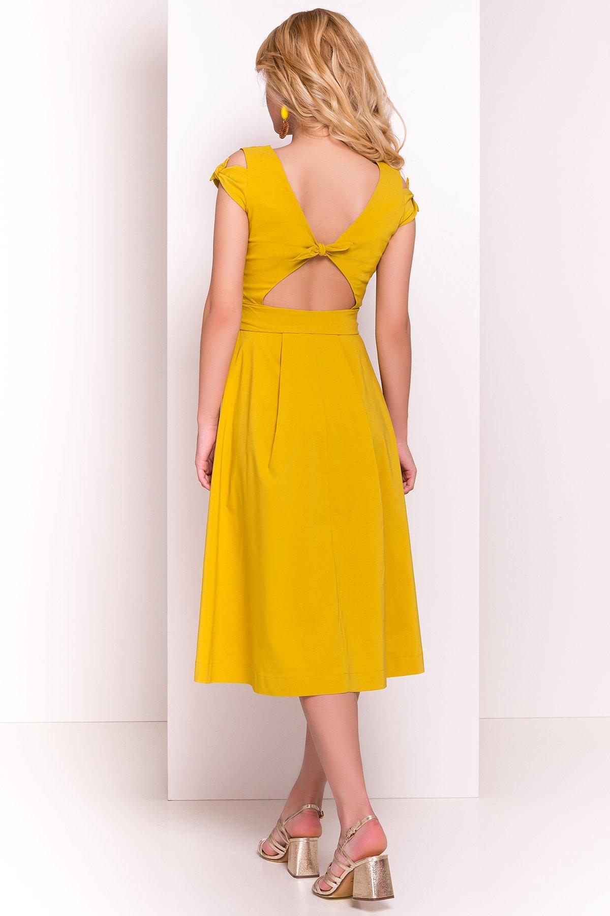 Платье Жадор 5125 Цвет: Горчица