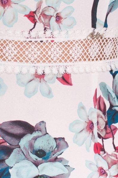Платье Регина Donna 5102 Цвет: Молоко/мята