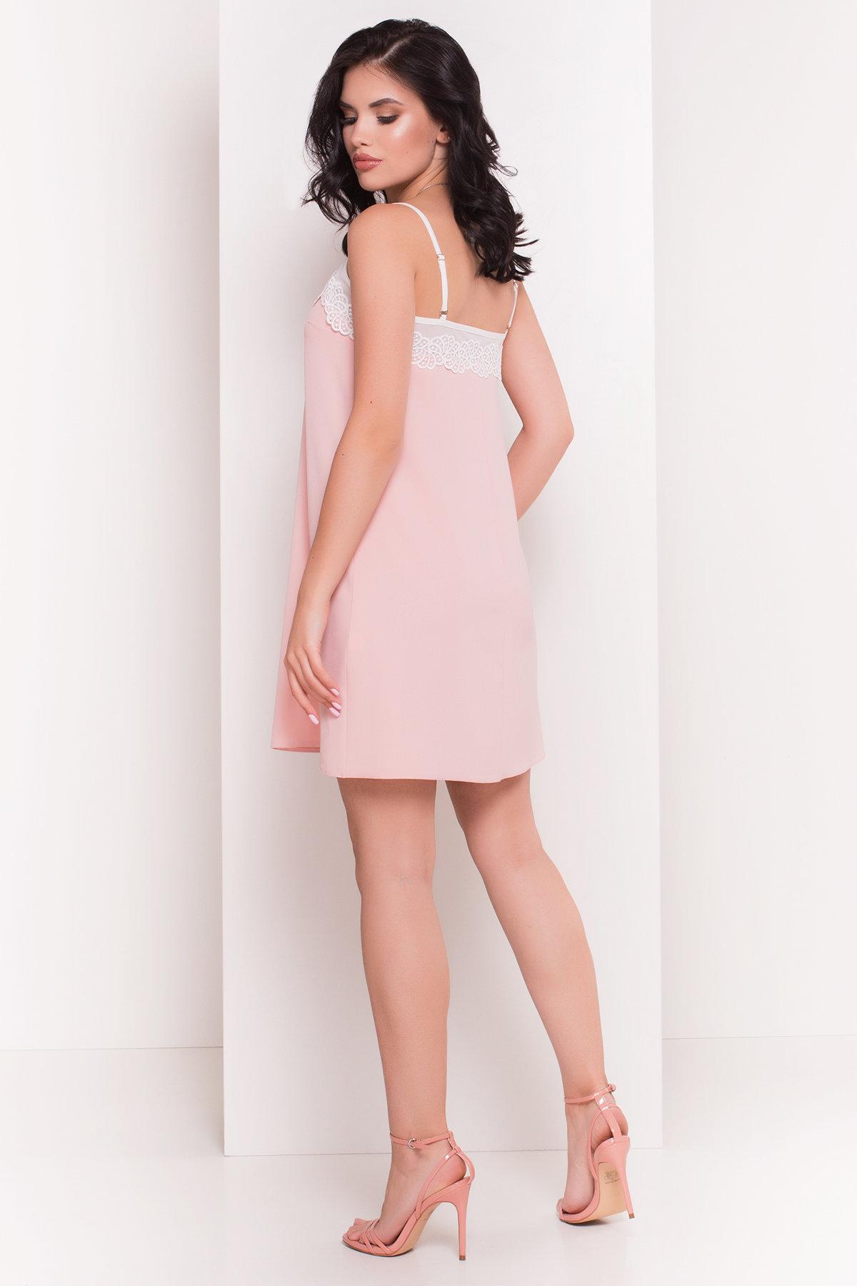 Платье Элиссон 5080 АРТ. 35735 Цвет: Персик - фото 3, интернет магазин tm-modus.ru