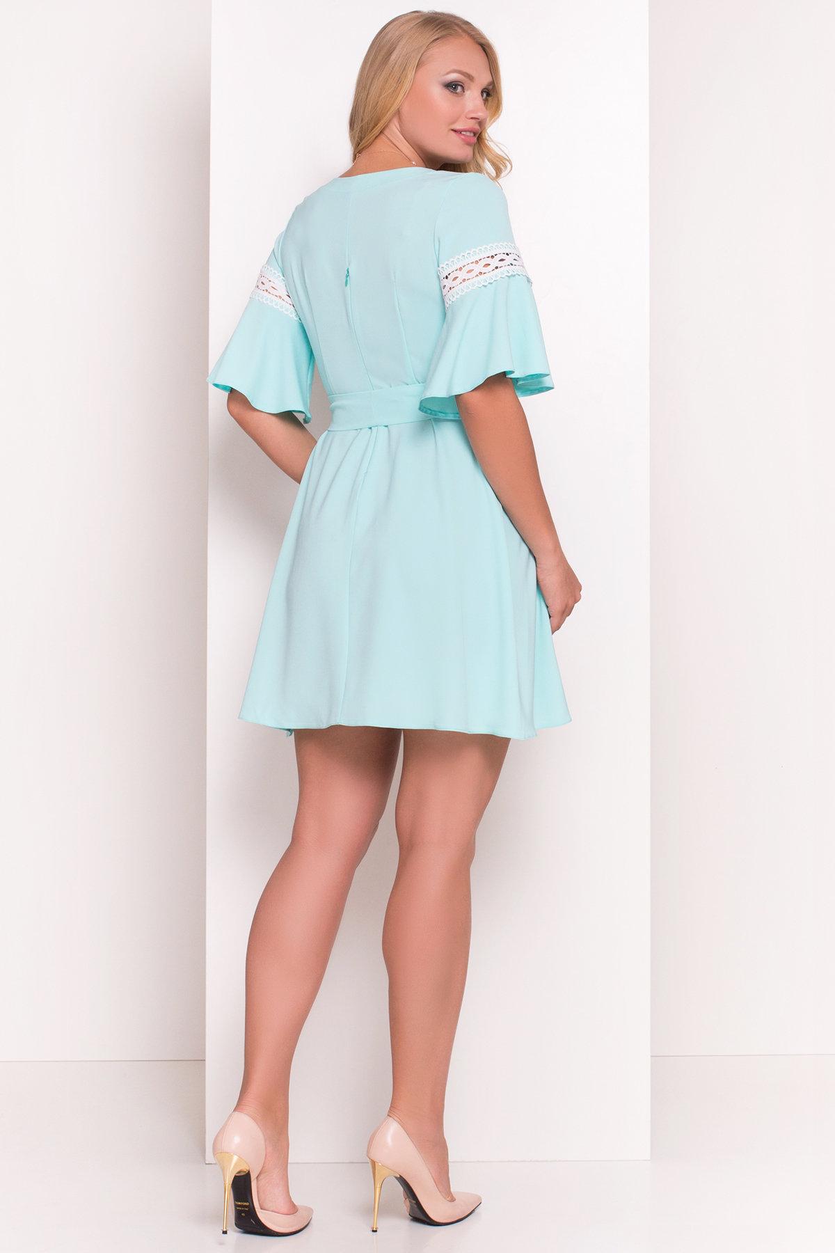 Платье Аделина Donna 5026 АРТ. 35524 Цвет: Мята - фото 2, интернет магазин tm-modus.ru