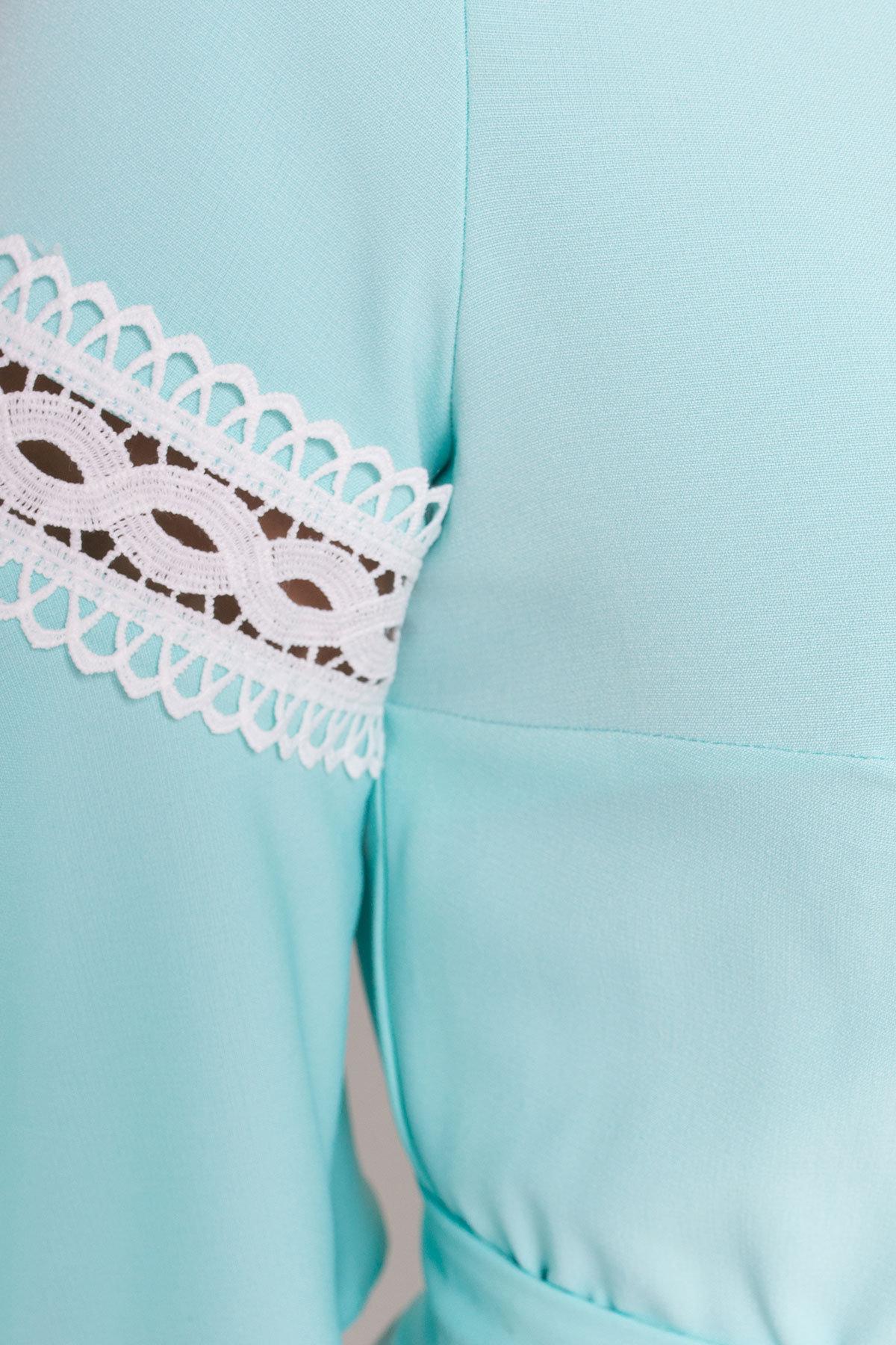 Платье Аделина Donna 5026 АРТ. 35524 Цвет: Мята - фото 4, интернет магазин tm-modus.ru