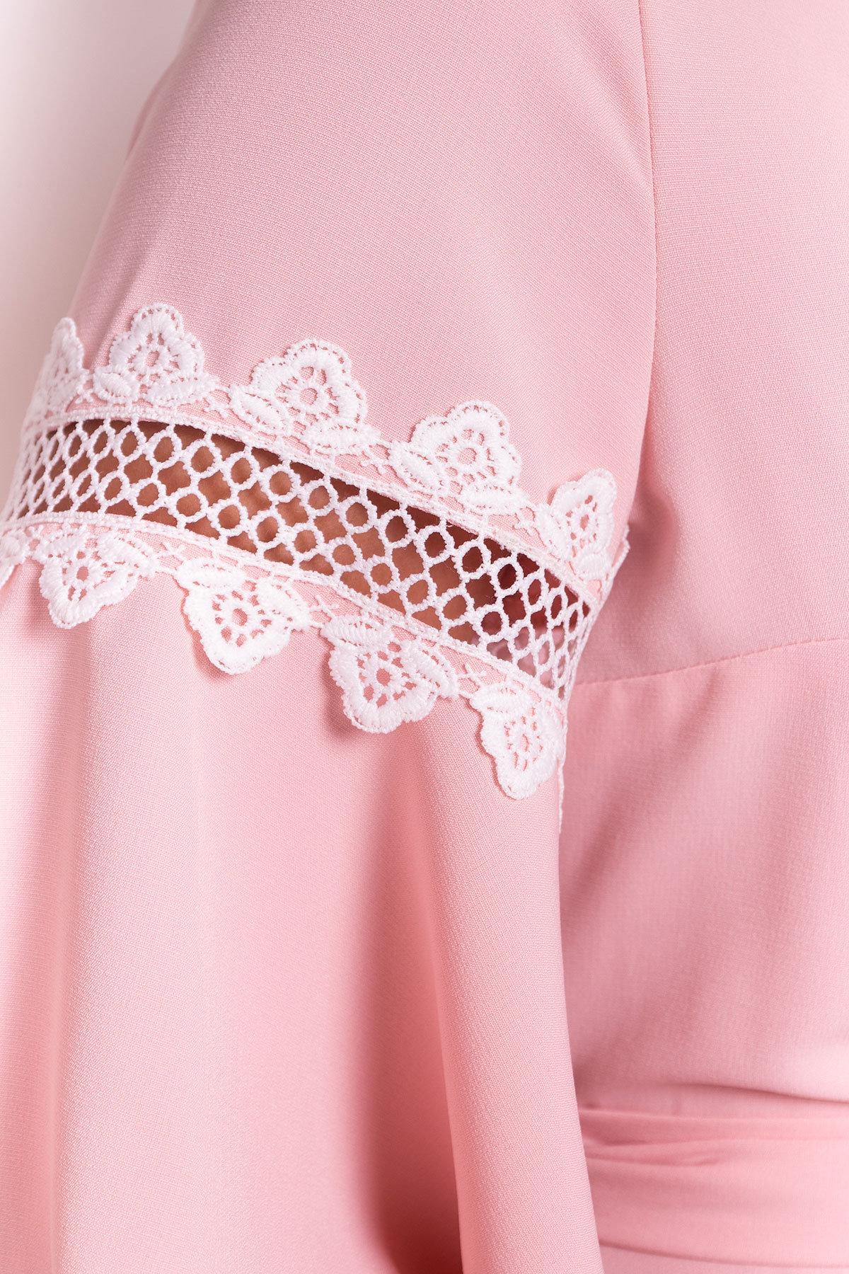Платье Аделина Donna 5026 АРТ. 35523 Цвет: Персик - фото 4, интернет магазин tm-modus.ru