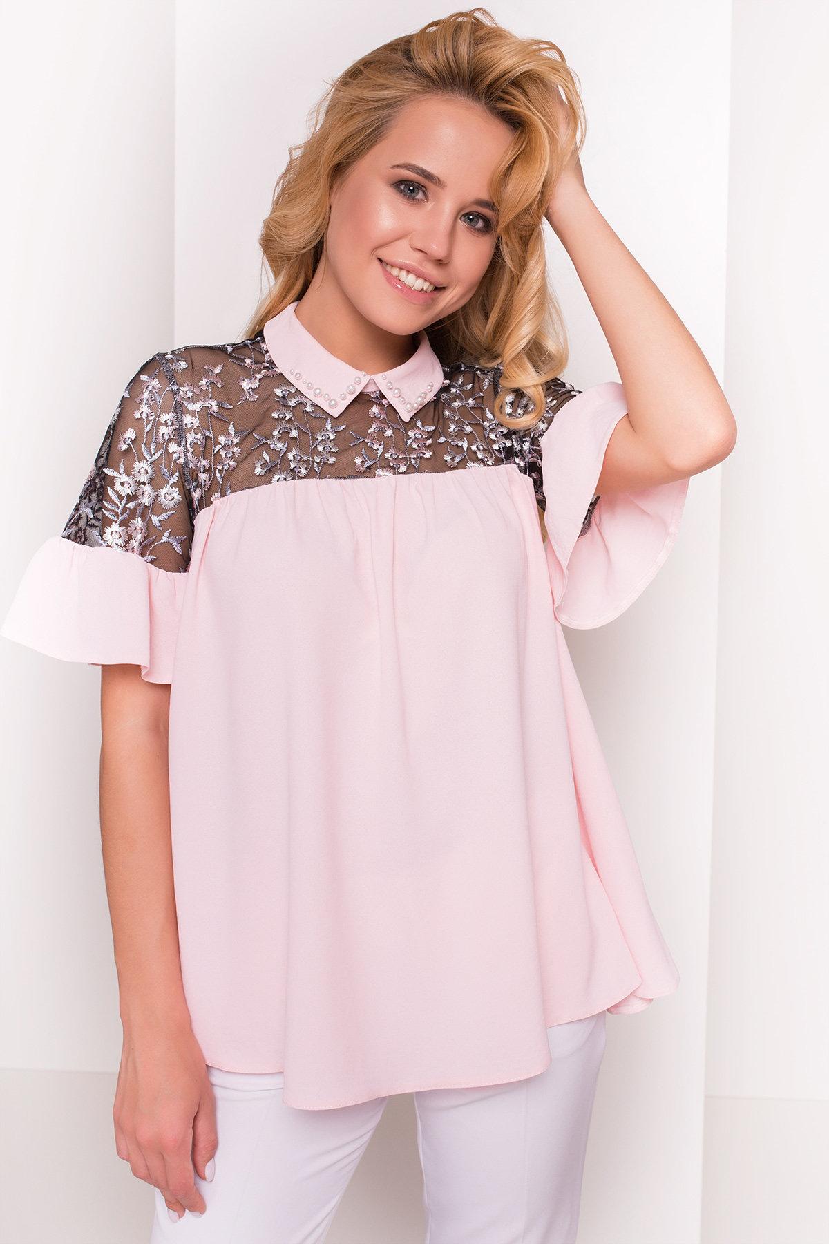Оптом белые блузки от производителя Блуза Джету 5127
