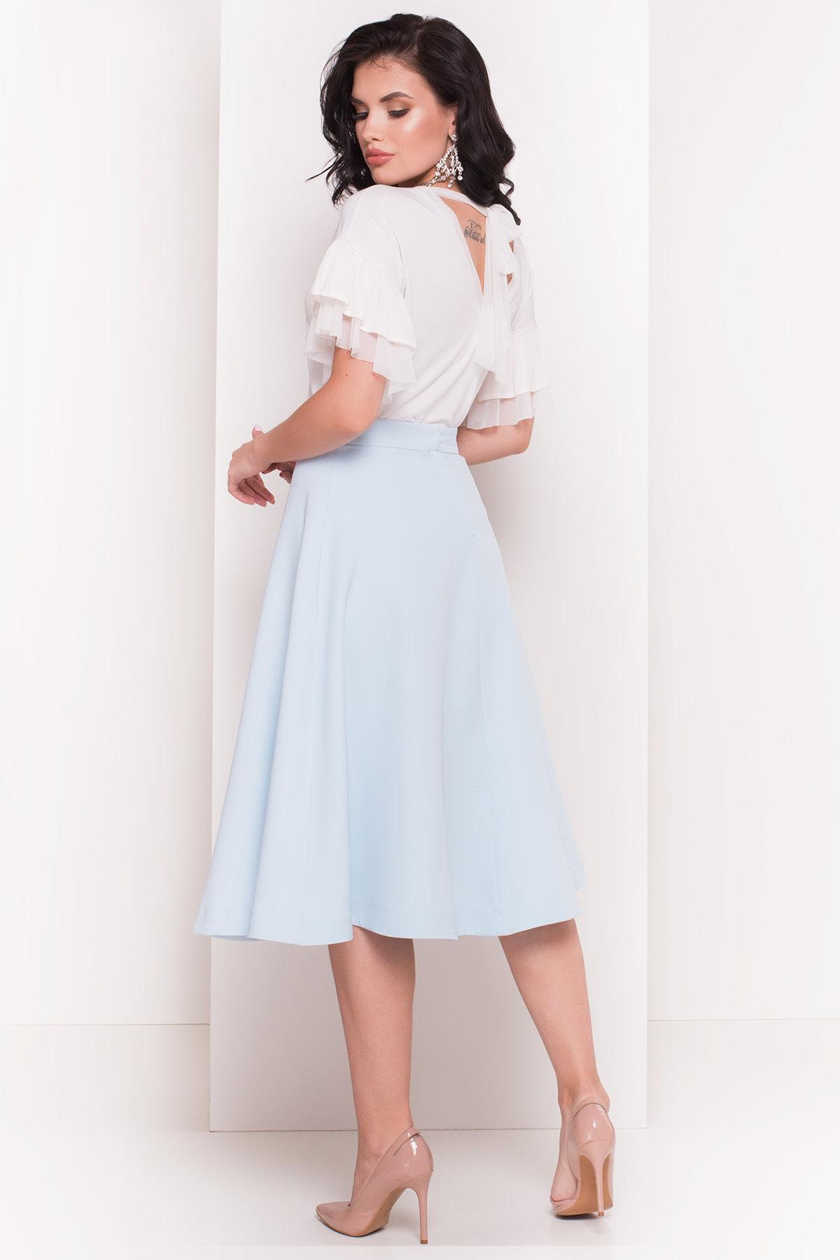 Блуза Ланта 5076 АРТ. 35628 Цвет: Молоко - фото 3, интернет магазин tm-modus.ru