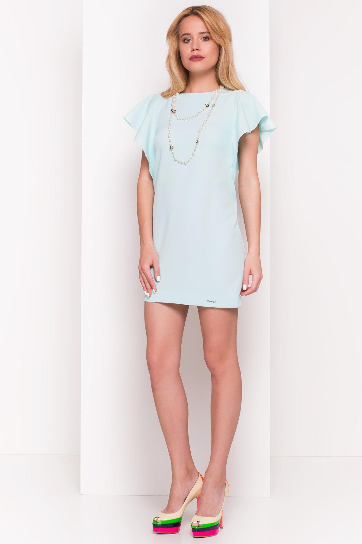 купить платье в Харькове Платье с короткими рукавами летучая мышь Айла  4878