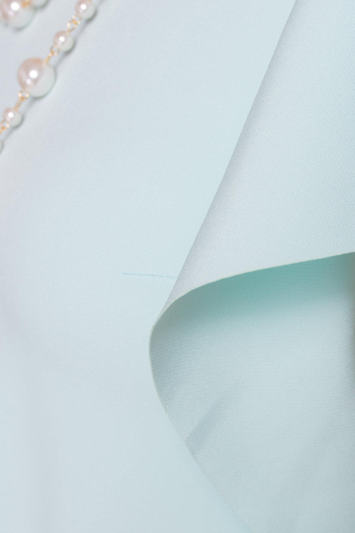 Платье с короткими рукавами летучая мышь Айла  4878 Цвет: Мята