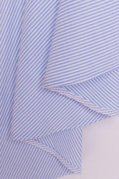 Платье-туника Феникс 5078 Цвет: Голубой/белый