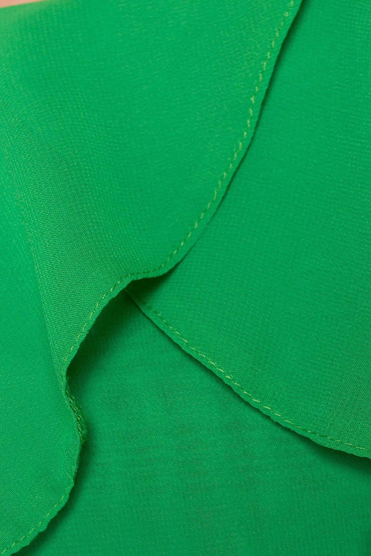 Платье  Пикабу 5149 Цвет: Зеленый