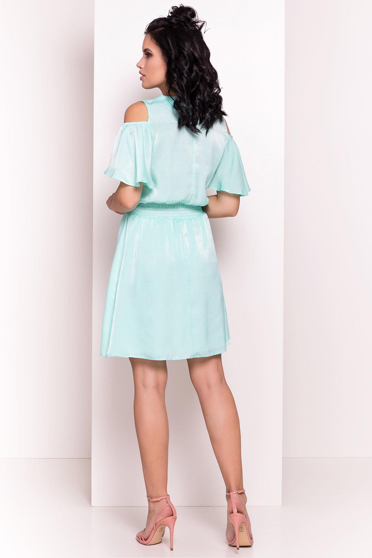 Платье Лолли 5073 АРТ. 35730 Цвет: Мята - фото 3, интернет магазин tm-modus.ru