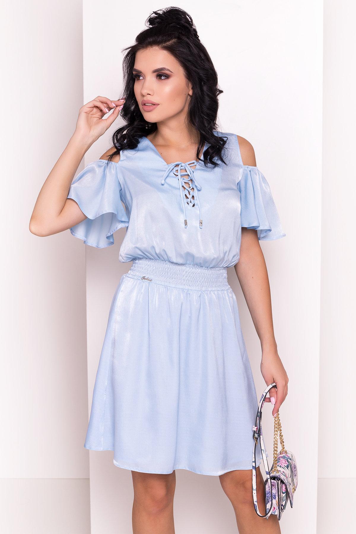 Платье Лолли 5073 Цвет: Голубой