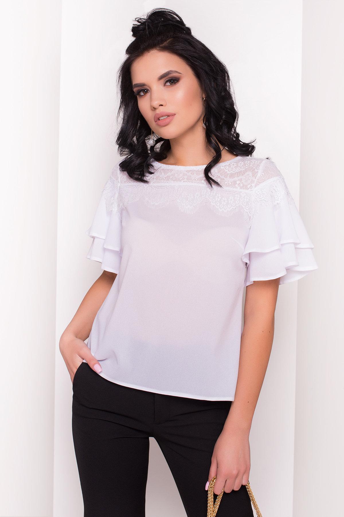 Блуза Ирис 4835 Цвет: Белый