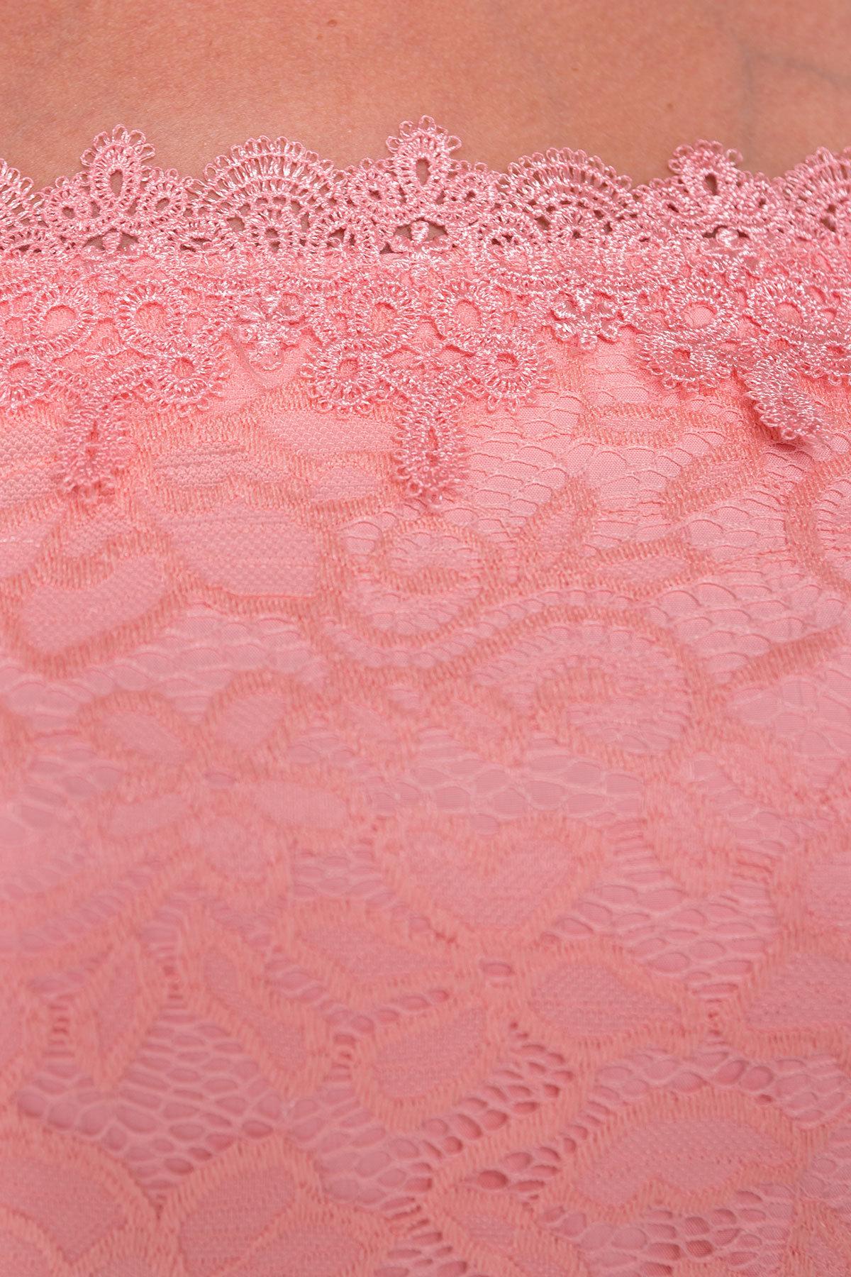 Платье Виола Donna 5059 АРТ. 35714 Цвет: Персик - фото 4, интернет магазин tm-modus.ru