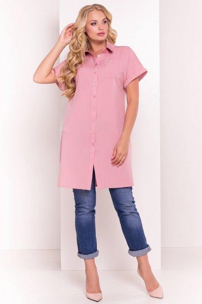 Платье-рубашка Шиен Donna 5088 Цвет: Чайная роза