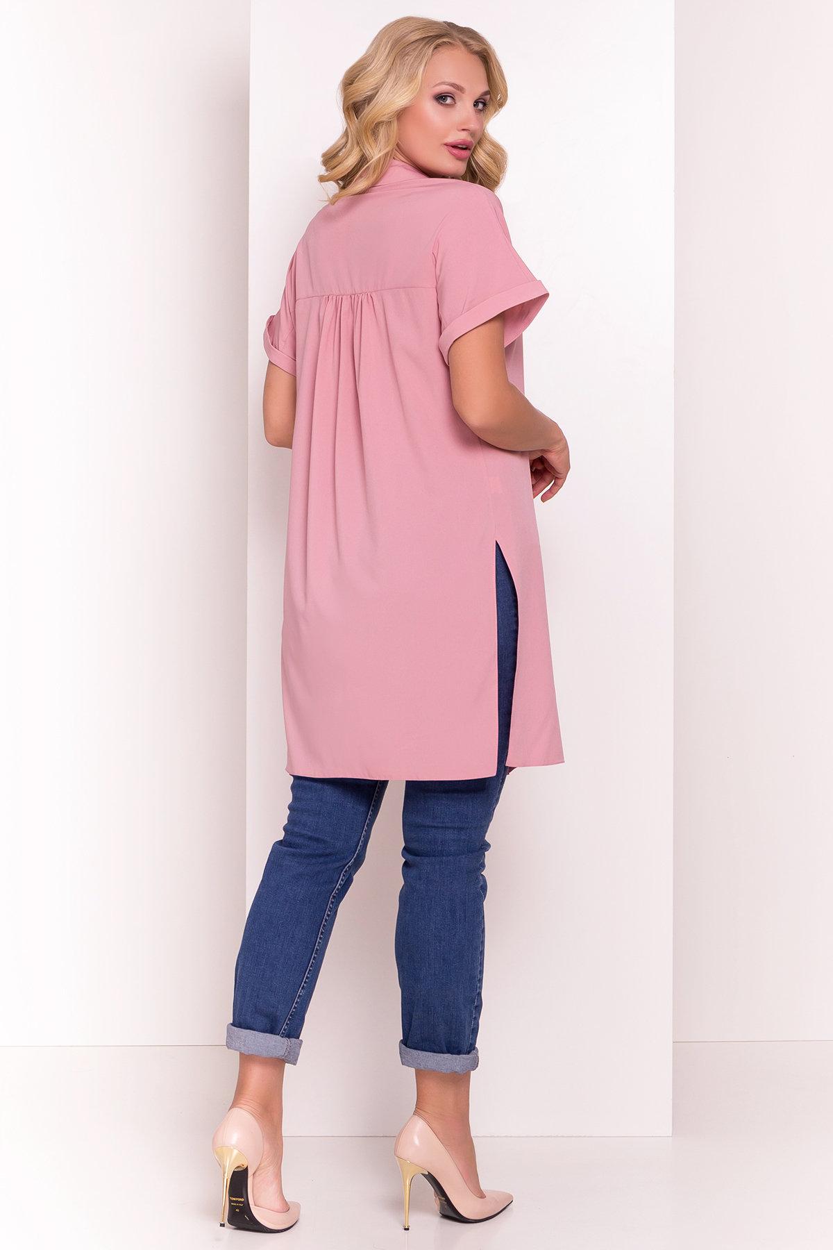 Платье-рубашка Шиен Donna 5088 АРТ. 36167 Цвет: Чайная роза - фото 3, интернет магазин tm-modus.ru