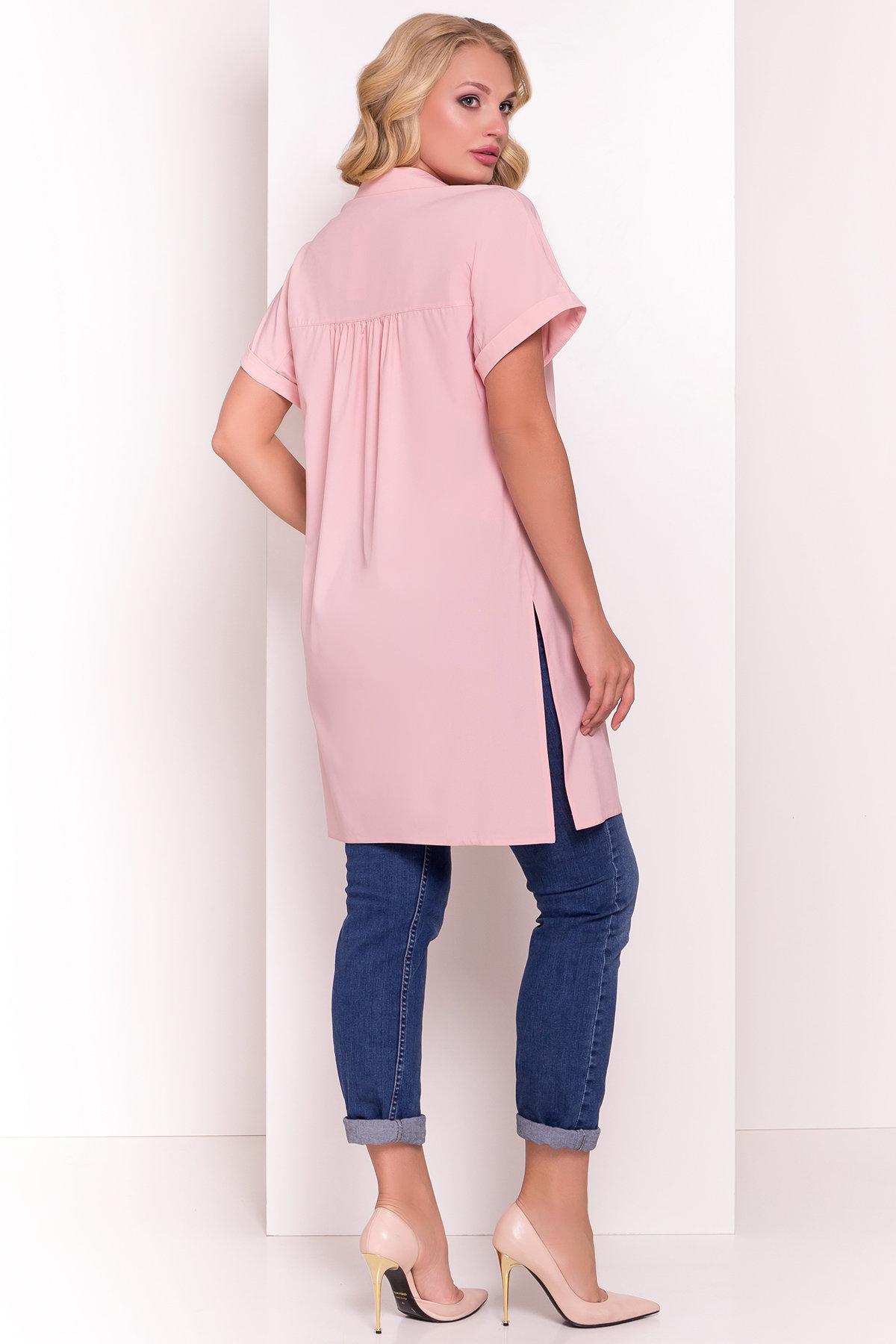 Платье-рубашка Шиен Donna 5088 Цвет: Пудра