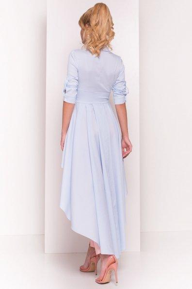 Платье-туника Феникс 5150 Цвет: Голубой/белый
