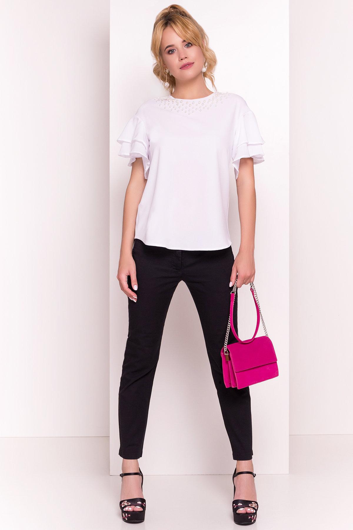 Белые блузки оптом от Modus Блуза Мария 4882