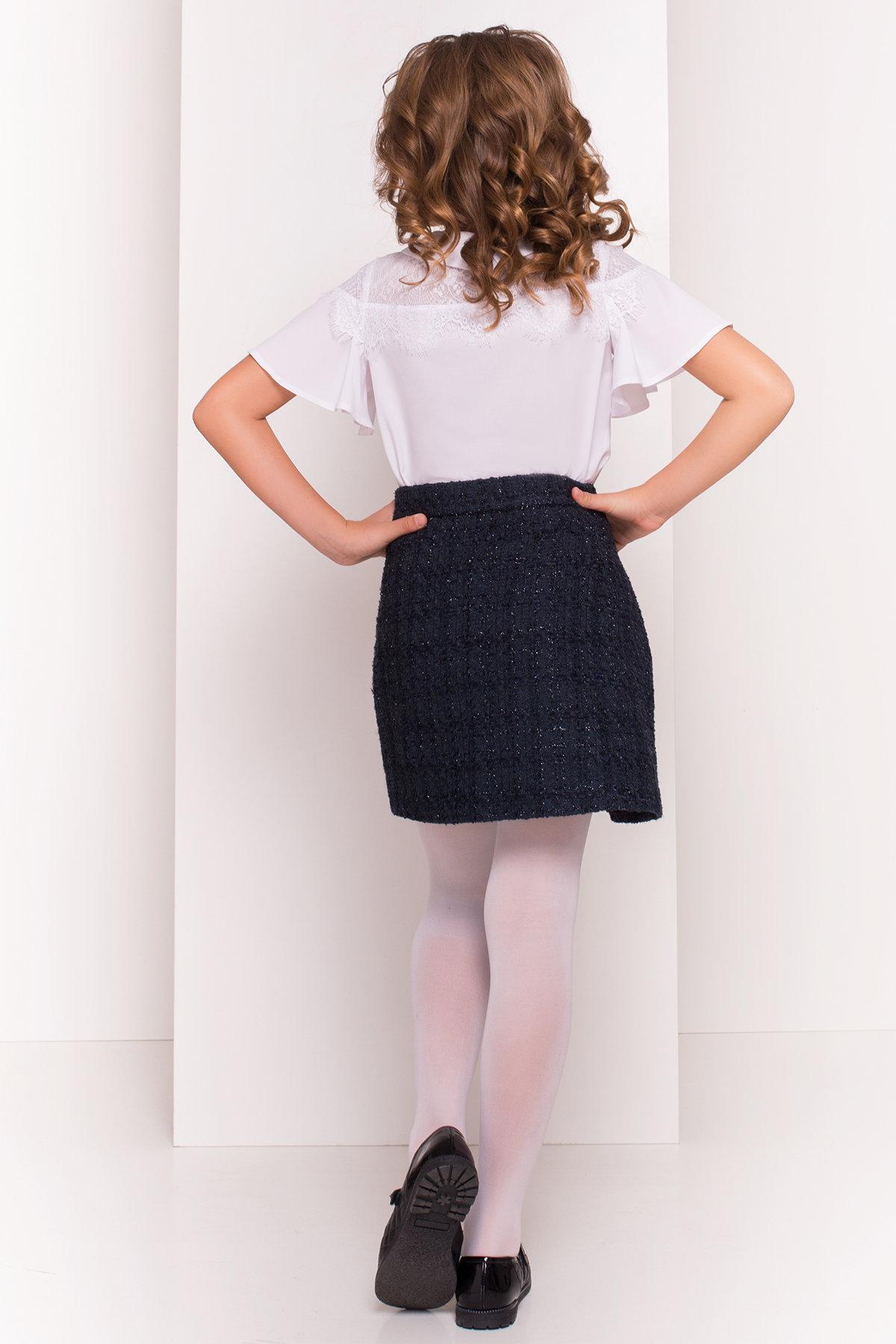 Блузка детская Ореанда 5193 АРТ. 36280 Цвет: Белый - фото 3, интернет магазин tm-modus.ru
