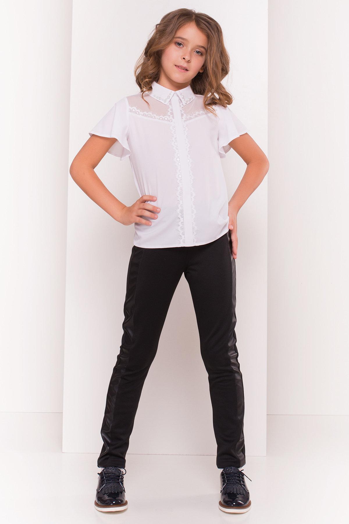 Блуза детская Зира 5135 АРТ. 36285 Цвет: Белый - фото 1, интернет магазин tm-modus.ru