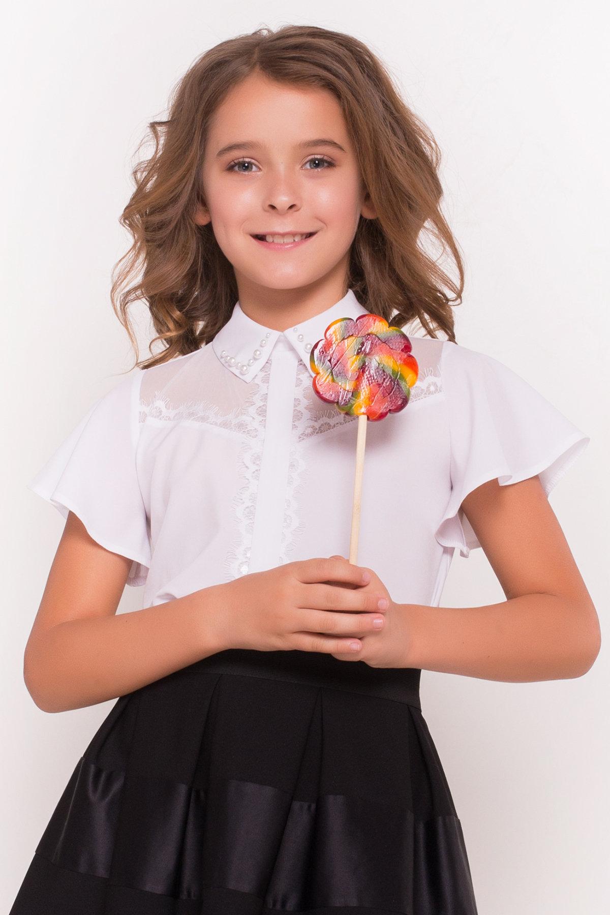 детские блузки для школы Блуза детская Зира 5135