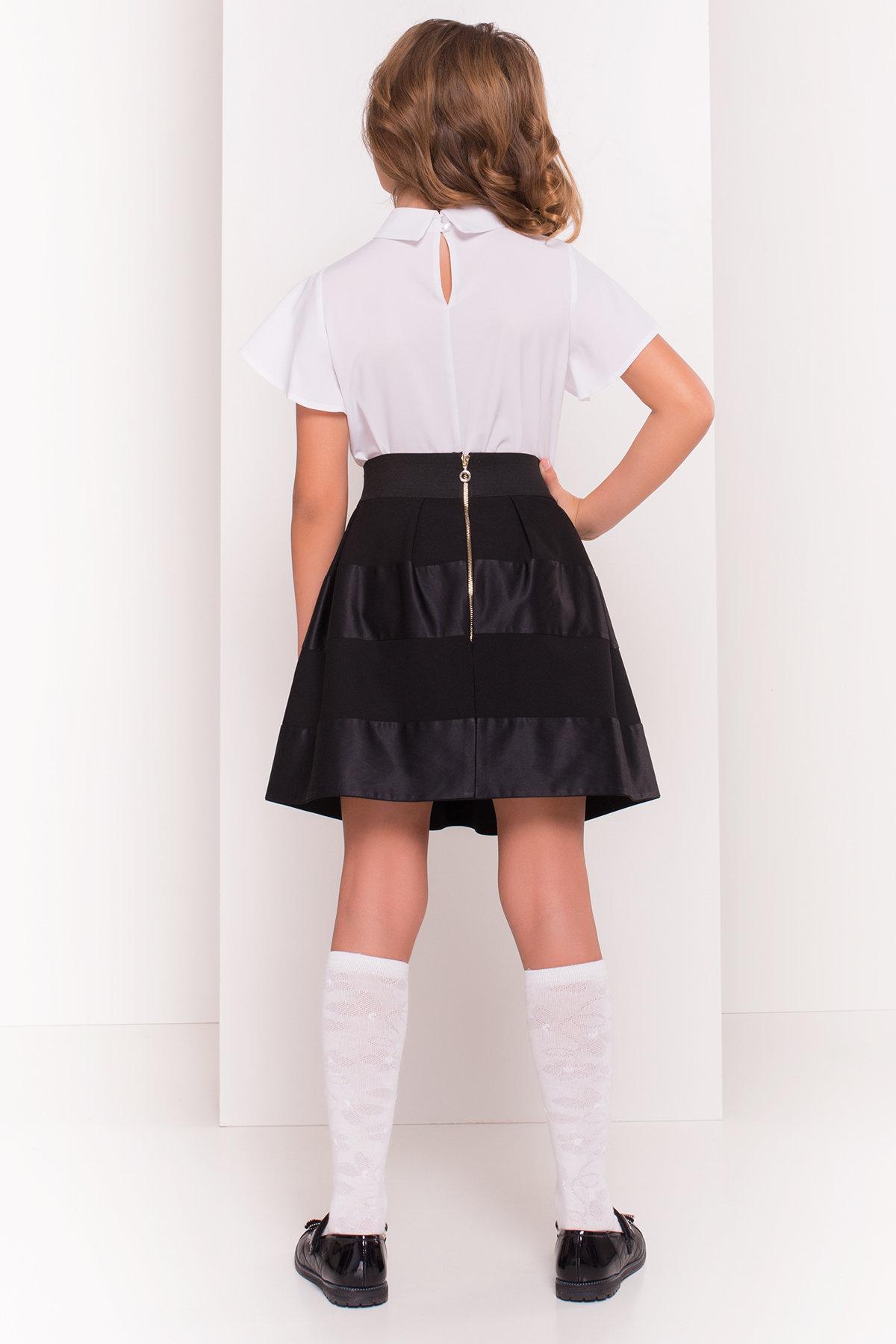Блуза детская Зира 5135 АРТ. 36285 Цвет: Белый - фото 4, интернет магазин tm-modus.ru