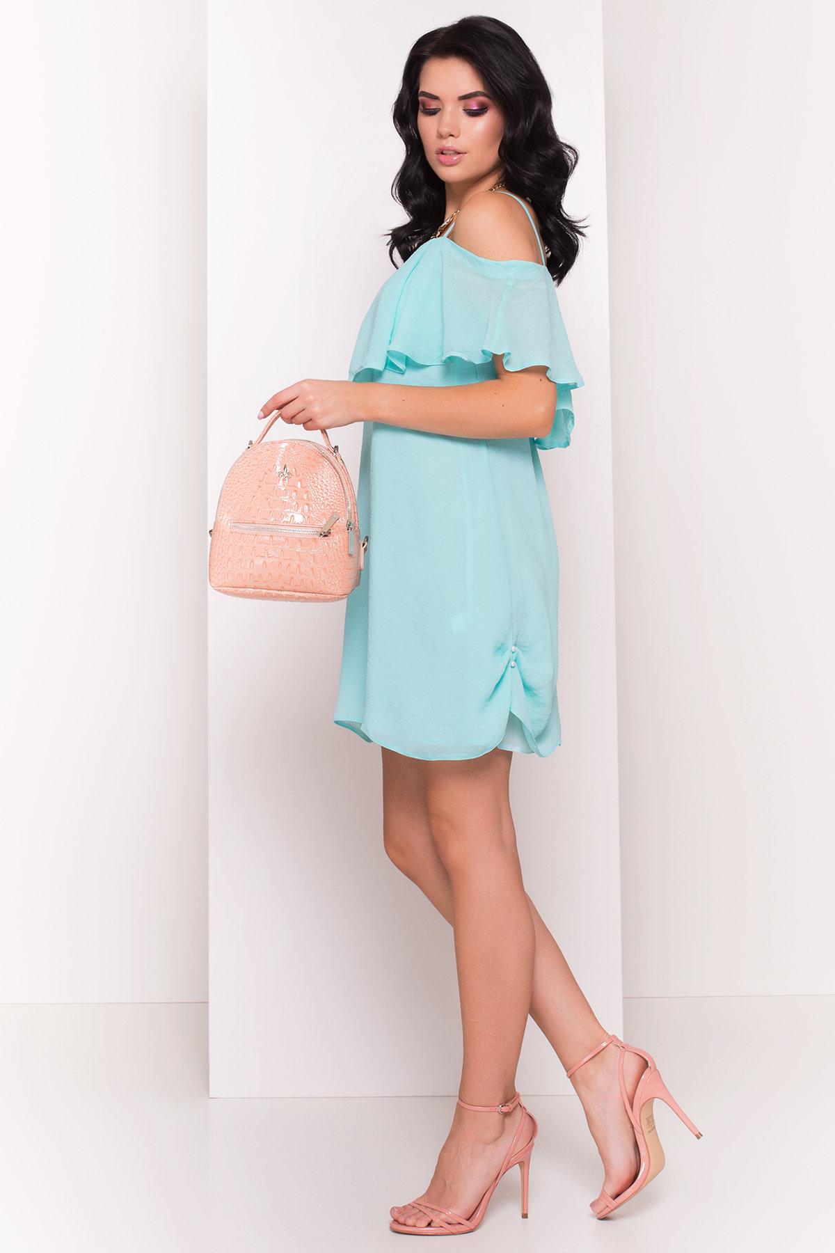 TW Платье Восток 5123 АРТ. 35974 Цвет: Мята - фото 3, интернет магазин tm-modus.ru