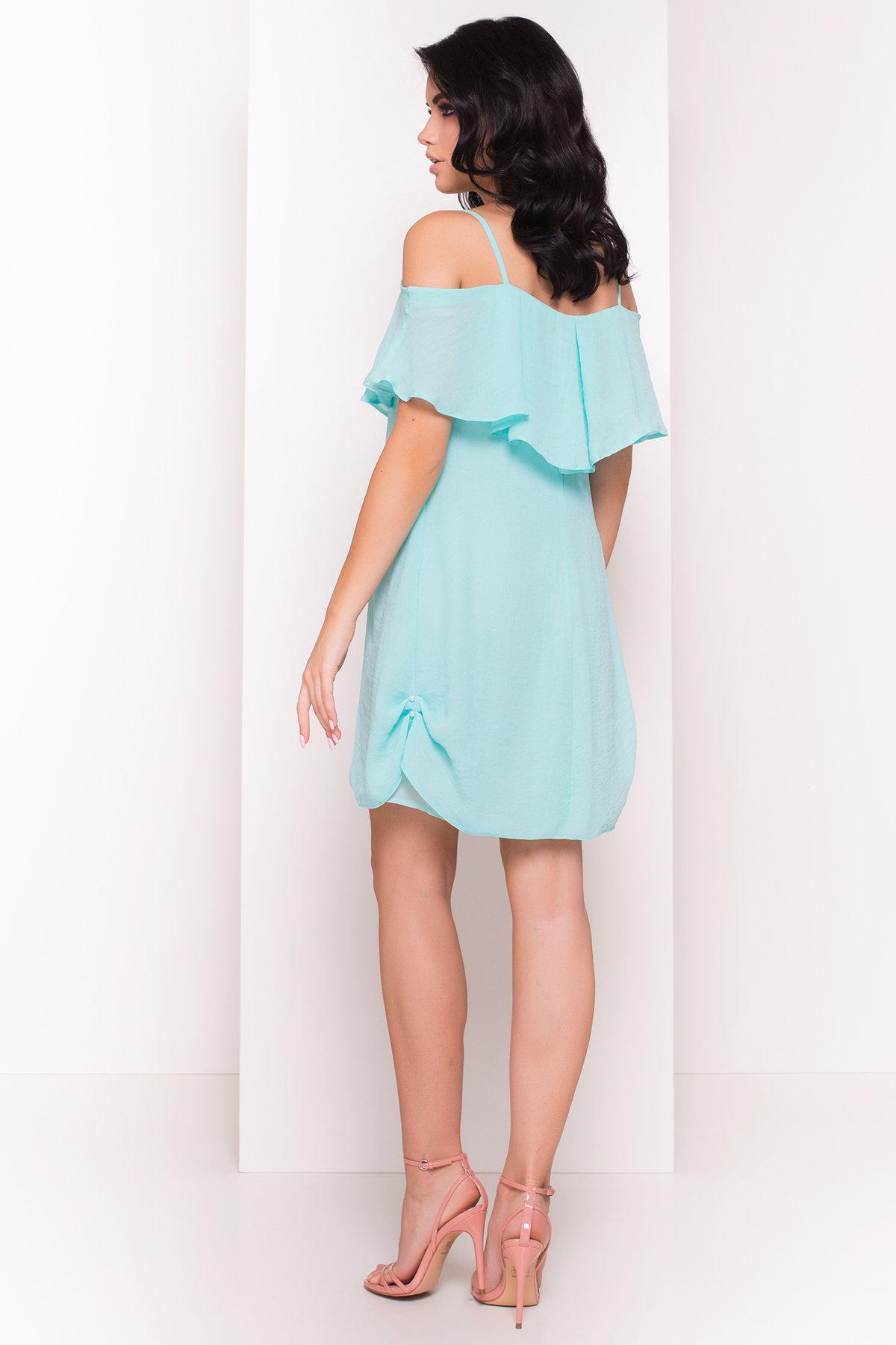 TW Платье Восток 5123 АРТ. 35974 Цвет: Мята - фото 4, интернет магазин tm-modus.ru