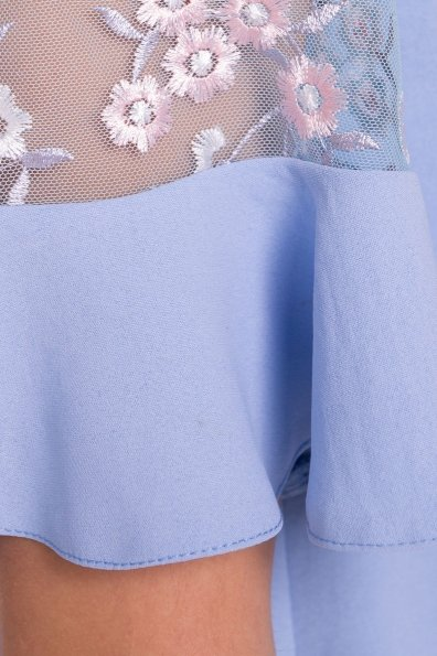 Блуза Анафи Х 5132 Цвет: Голубой
