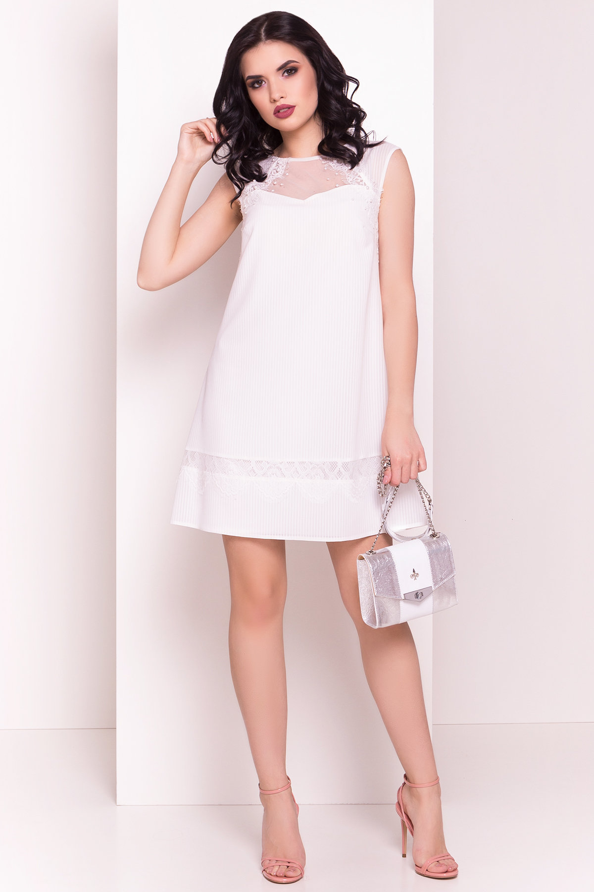 Платье Млада Х 5090 Цвет: Молоко