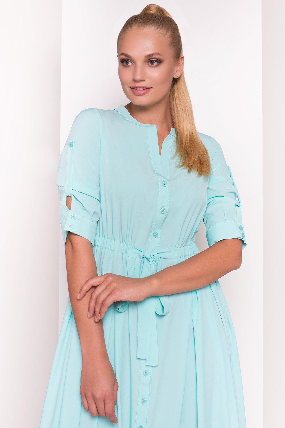 Платье Паула Donna 5089 АРТ. 35972 Цвет: Мята - фото 2, интернет магазин tm-modus.ru