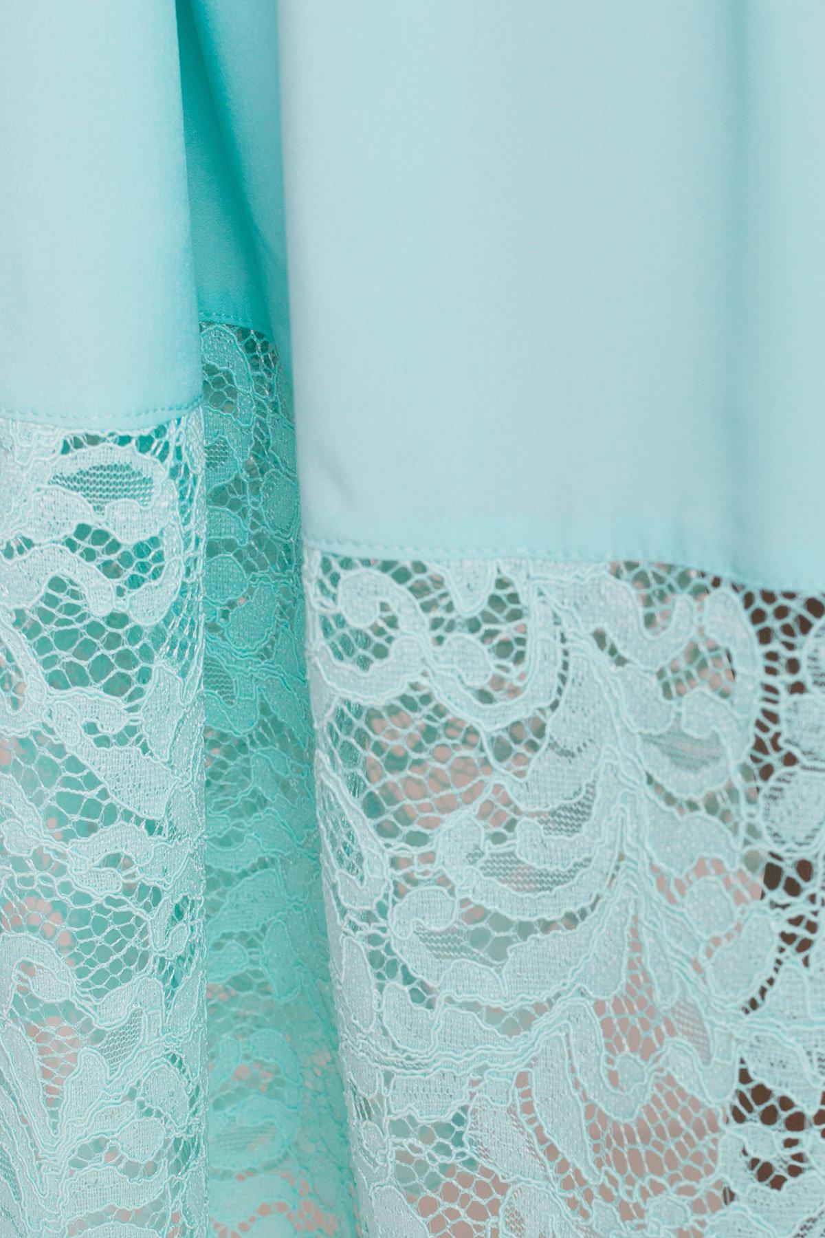 Платье Паула Donna 5089 АРТ. 35972 Цвет: Мята - фото 4, интернет магазин tm-modus.ru