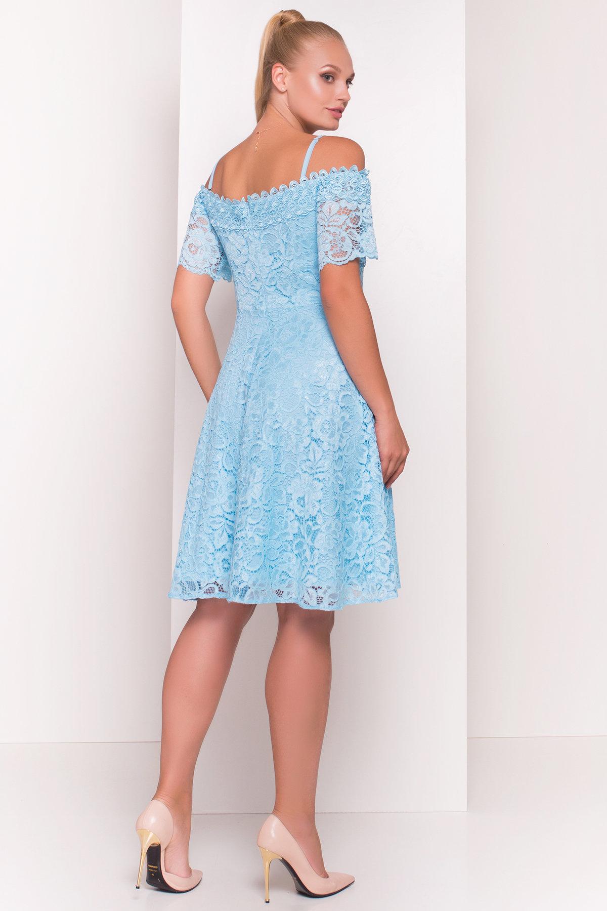 Платье Виола Donna 5059 Цвет: Голубой