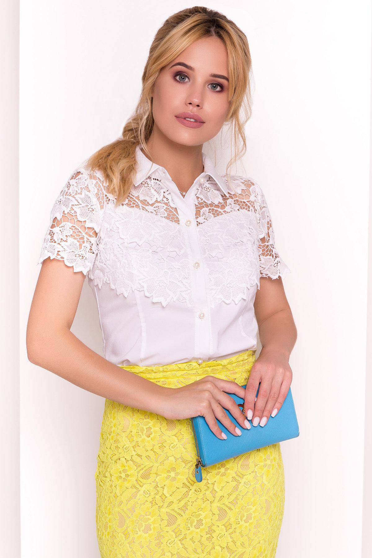 Блуза Талия 5227 Цвет: Молоко