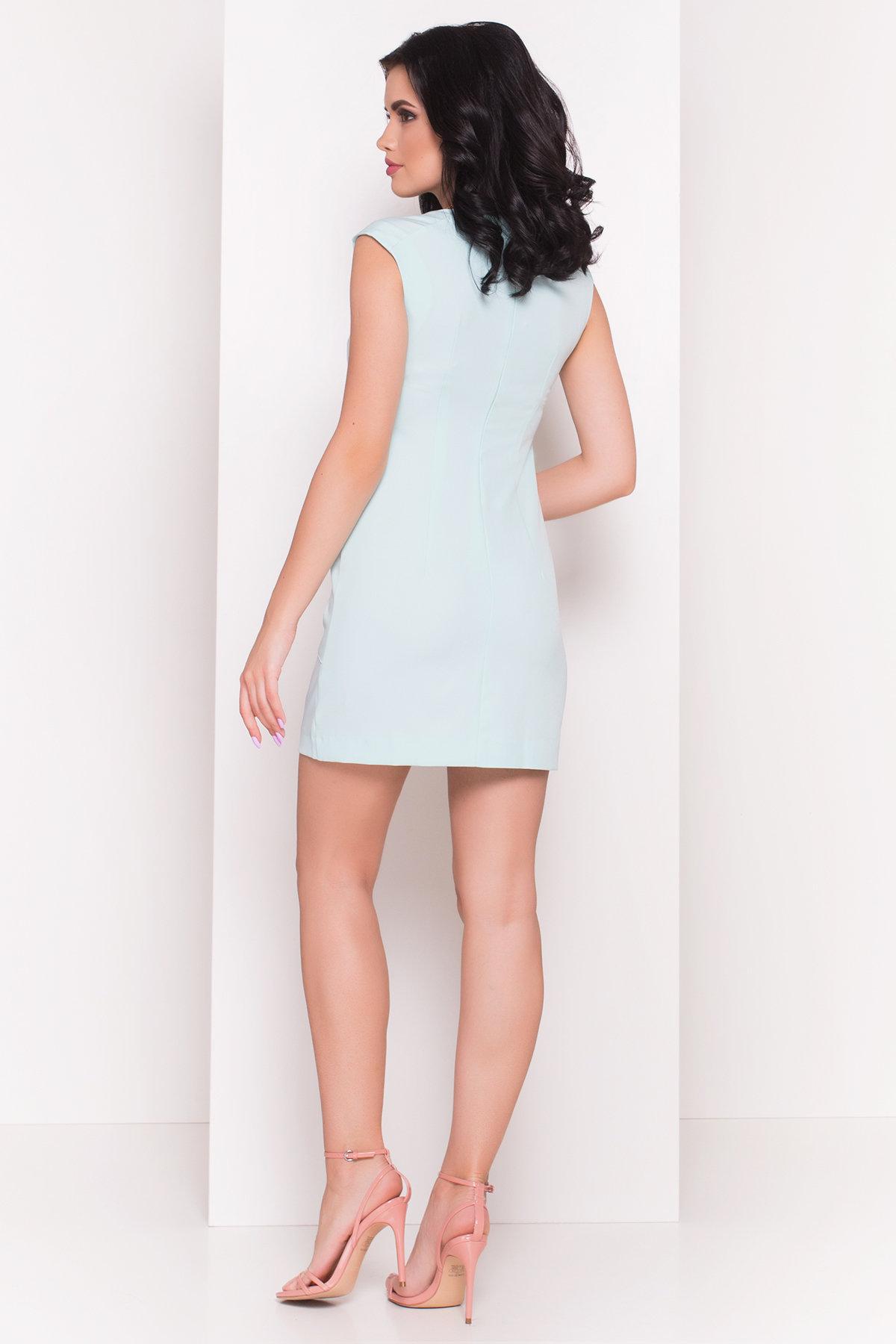 Платье Виларго лайт 270 АРТ. 6496 Цвет: Светлая-мята - фото 2, интернет магазин tm-modus.ru