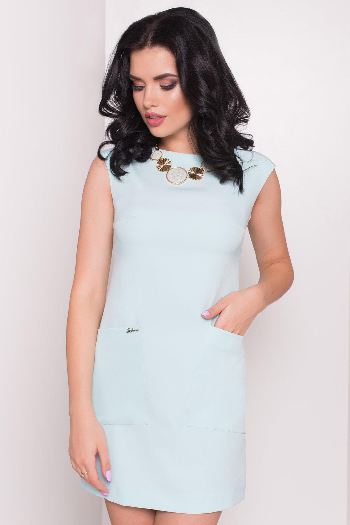 Платье Виларго лайт 270 АРТ. 6496 Цвет: Светлая-мята - фото 3, интернет магазин tm-modus.ru