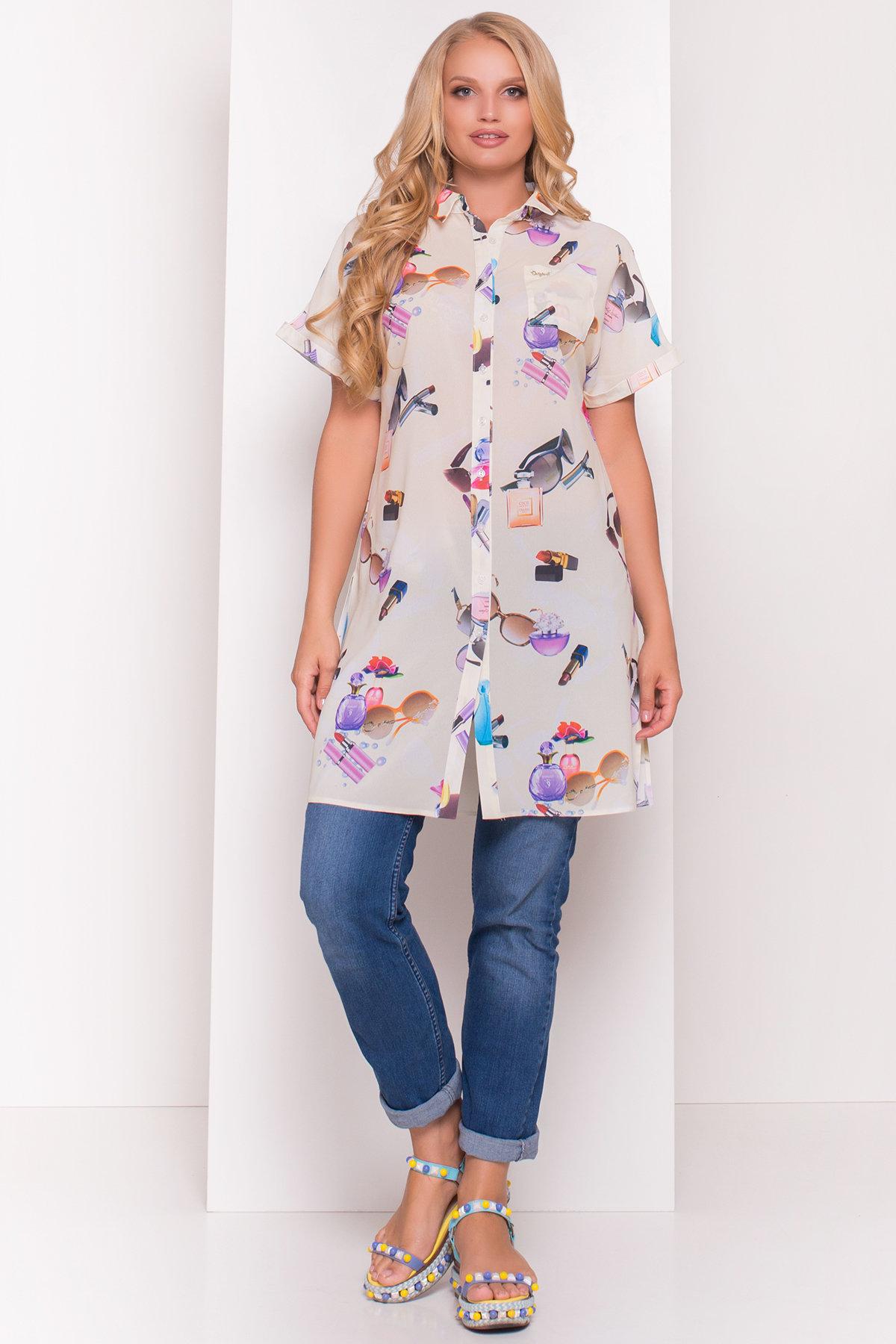 TW Платье -рубашка Шиен Donna 5239 АРТ. 36450 Цвет: Лимон Parfums - фото 1, интернет магазин tm-modus.ru