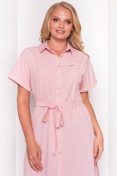 Платье-рубашка Шиен Donna 5088 Цвет: Персик