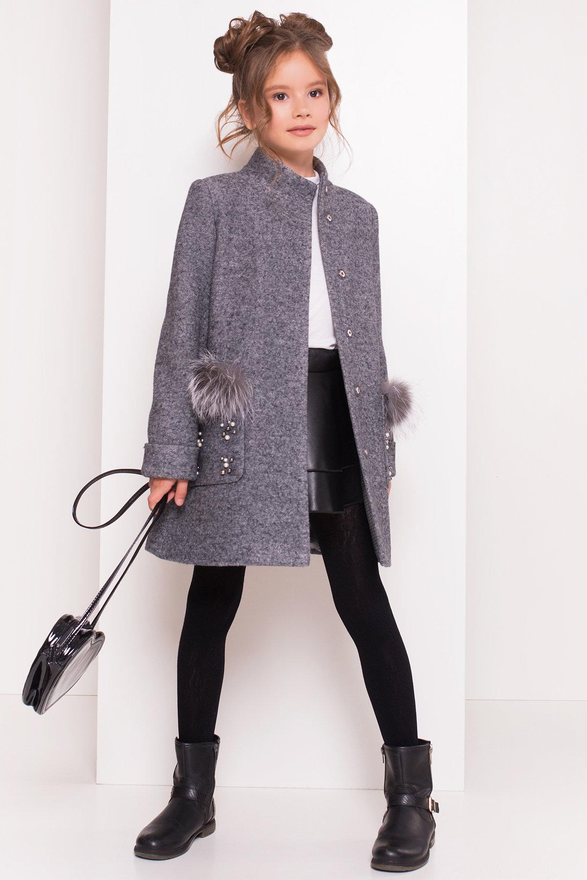 детское пальто для девочки Пальто детское Норма 5286