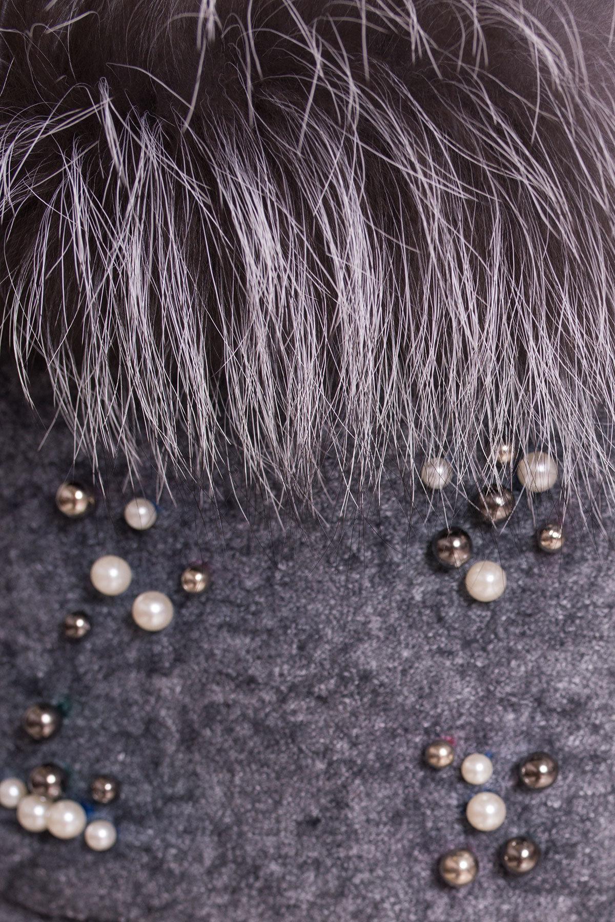 Пальто детское Норма 5286 АРТ. 36527 Цвет: Серый Темный LW-5 - фото 6, интернет магазин tm-modus.ru