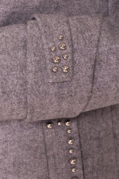 Пальто Анси 4544 Цвет: Серый Светлый