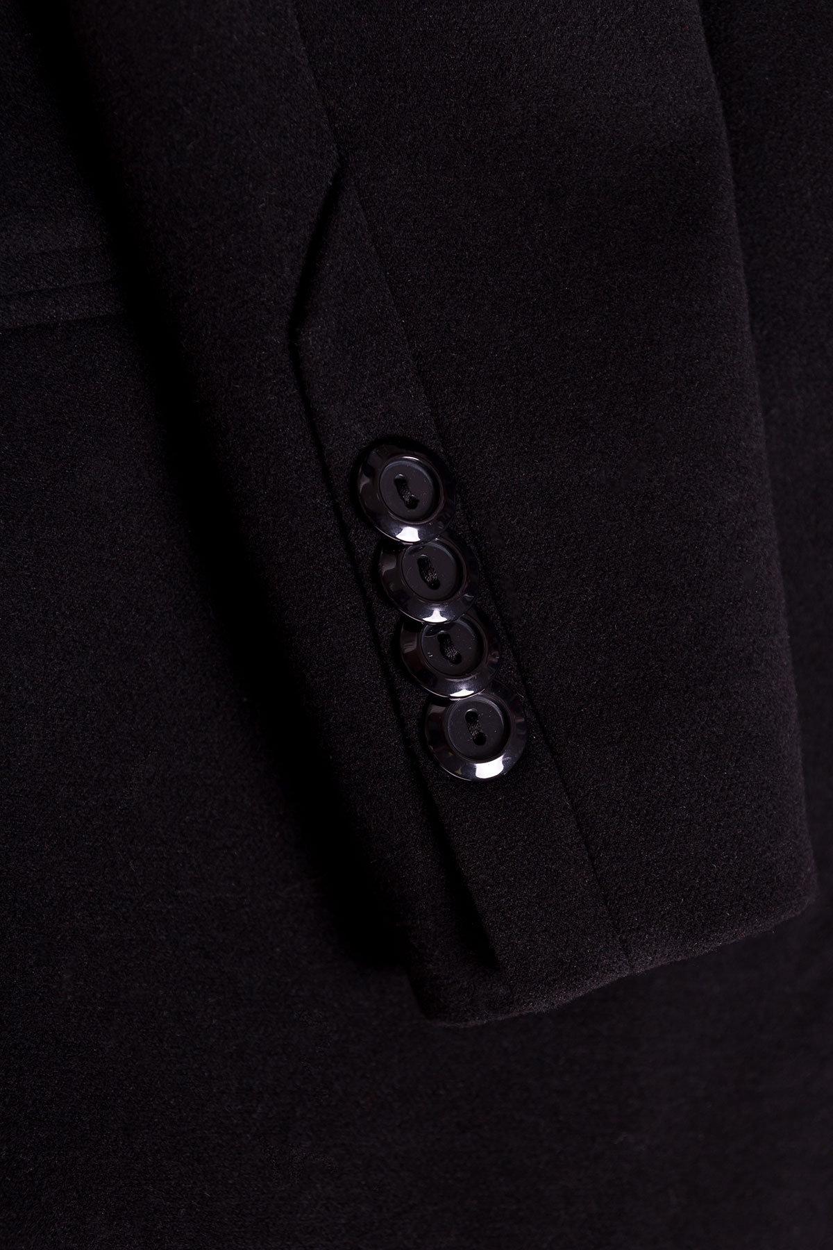 Пальто Кайра 1986 АРТ. 17313 Цвет: Черный - фото 5, интернет магазин tm-modus.ru
