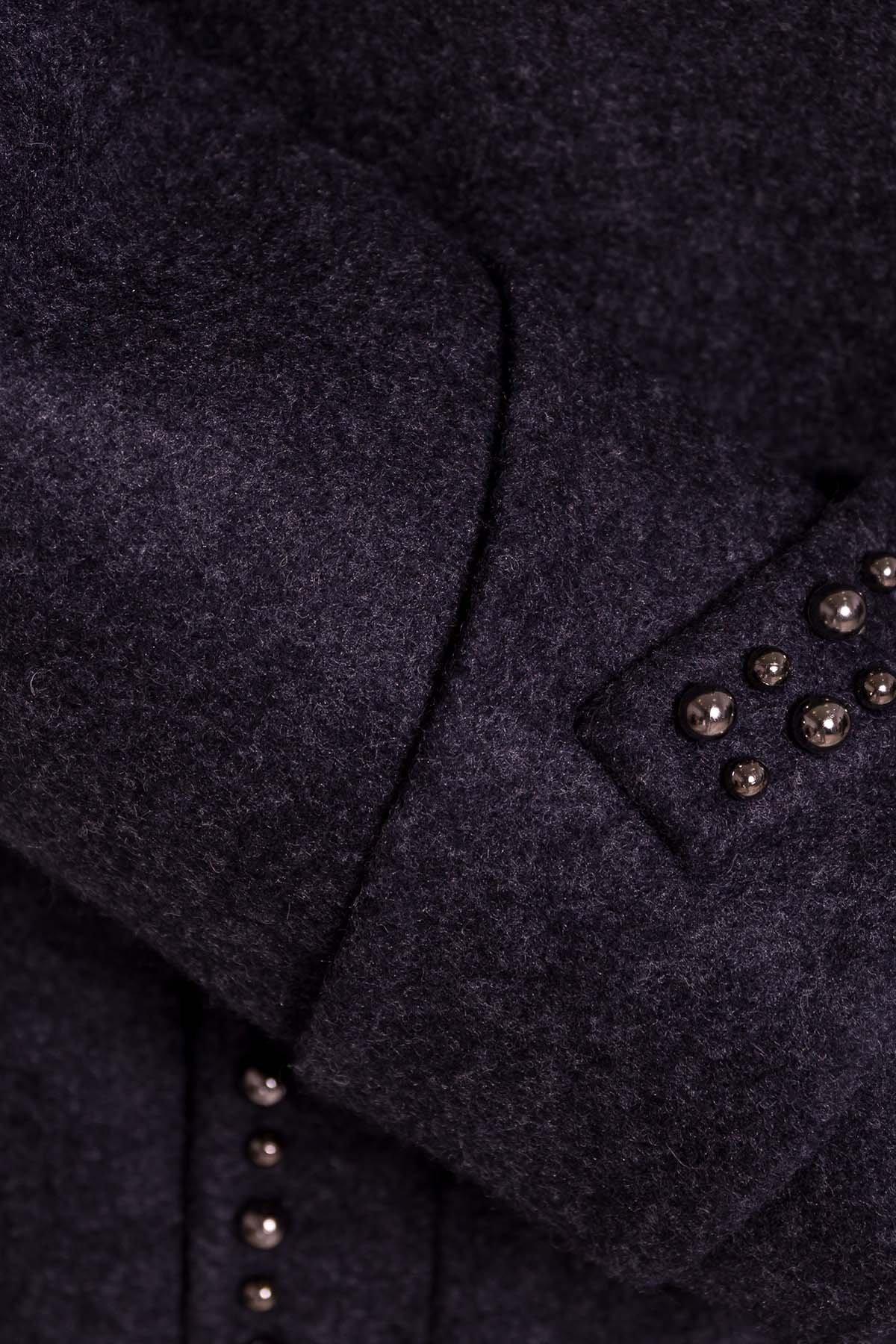 Пальто Анси 4544 АРТ. 21594 Цвет: Темно-синий - фото 7, интернет магазин tm-modus.ru