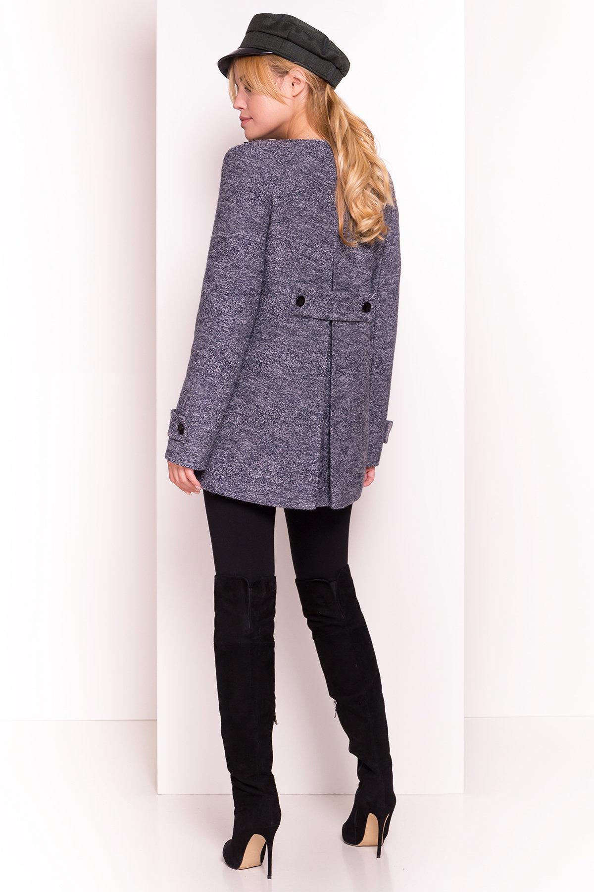 Пальто Латта 5328 АРТ. 36539 Цвет: Серый темный LW-22 - фото 5, интернет магазин tm-modus.ru