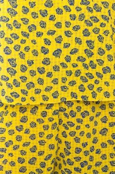 TW Комбинезон Никки 5261 Цвет: Желтый розы темно-синие