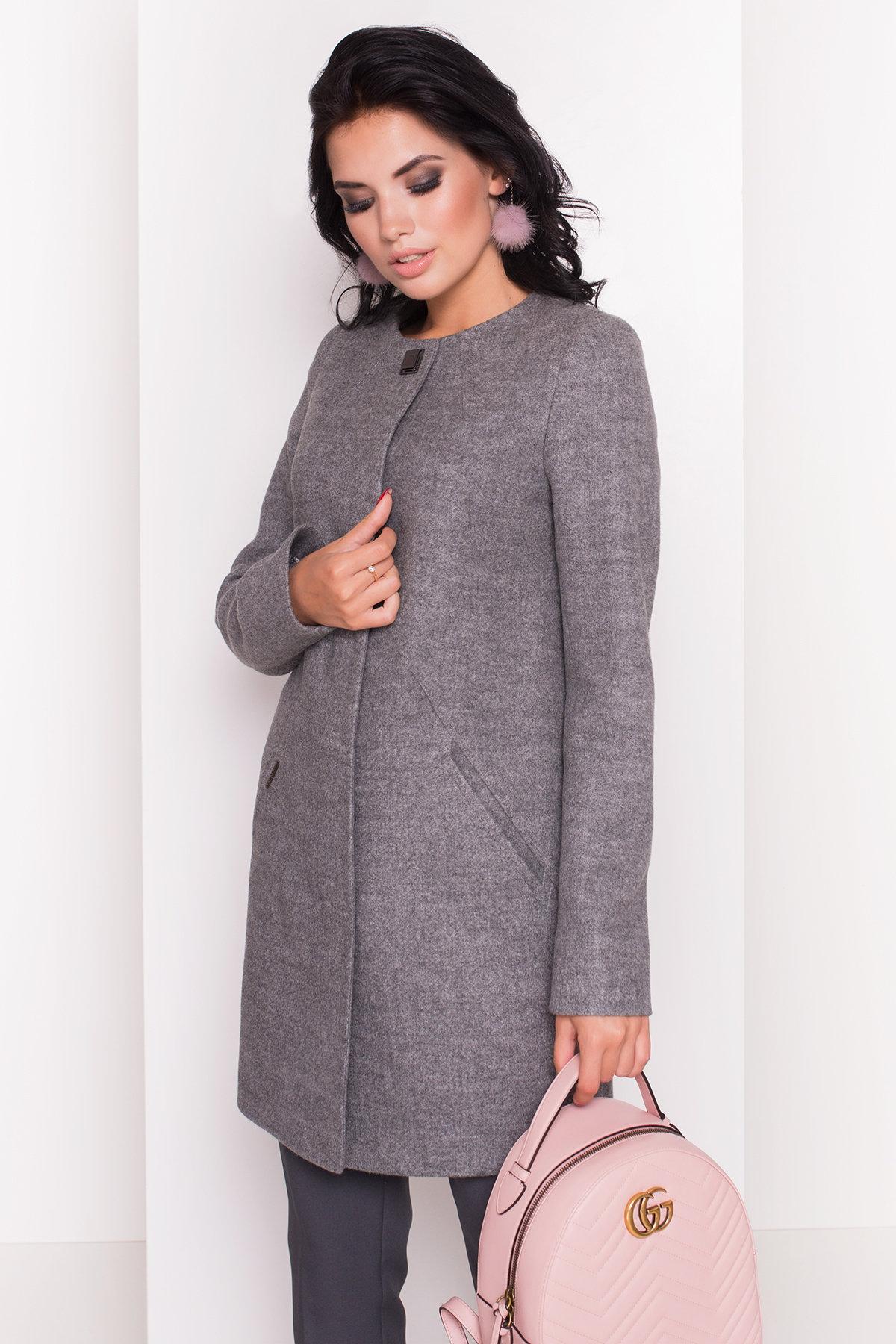Пальто Шаника 5379 Цвет: Серый 18