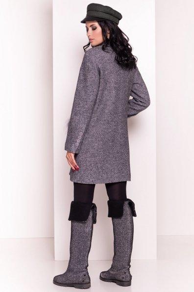 Пальто Этель 4369 Цвет: Серый Темный LW-5